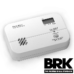 BRK 120V AC Plug-In Carbon Monoxide Alarm with Digital Display
