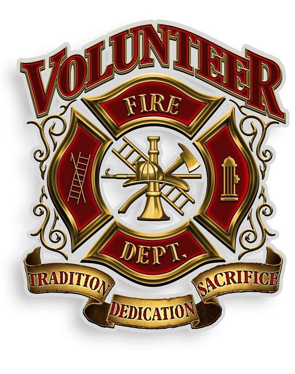 Reflective Decal Volunteer Firefighter Feldfire Com