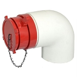 Kochek DHF - Female Dry Hydrant Adapter with 45° Elbow And Plug