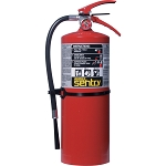 Ansul® Sentry 10 lb ABC Fire Extinguisher w/ Wall Hook