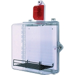 STI AED Protective Cabinet w/Select-Alert Alarm & Clear Thumb Lock