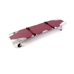 Ferno Medical Foldable Stretcher with Wheels and Posts