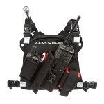 Coaxsher RCP-1 Pro Radio Chest Harness - Black