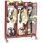 Red Rack Mobile Gear Storage, 20