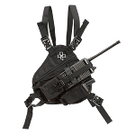 Coaxsher RP-1 Scout Radio Chest Harness - Black