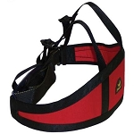PMI Chest Roller Harness - Red