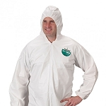 Lakeland MicroMax Coverall with Attached Hood & Boots