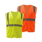 GSS Safety Standard Class 2 Mesh Hook & Loop Safety Vest