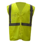 GSS Safety Standard Class 2 Mesh Zipper Safety Vest