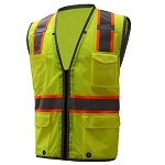 GSS Safety Hype-Lite Safety Vest With Reflective piping
