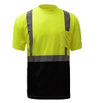 GSS Safety Class 2 Short Sleeve T-shirt Black Bottom