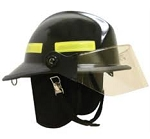 MSA/Cairns Invader 664 Composite Fire Helmet