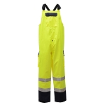 GSS Safety 6805 Class E  Waterproof Bib with 2 Side Pockets & 1 Cargo Pocket
