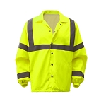 GSS Safety Standard Class 3 Snap Button Windbreaker Jacket