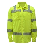 GSS Safety Class 3 New Designed Lightweight Shirt Rip Stop Bottom Down Shirt