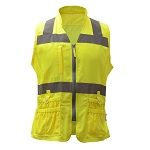 GSS Safety Class 2 Ladies Utility Vest