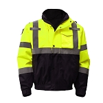GSS Safety Class 3 3-IN-1 Waterproof Bomber with New Removable Fleece