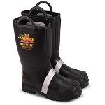 Hellfire Rubber Felt Insulated Boot, Lug Sole