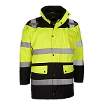 GSS Safety 8501 Class 3 Waterproof Fleece-Lined Parka Jacket