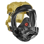 3M Scott AV-3000 HT, Kevlar Headnet (4-strap), Comms Brkt (Rt)