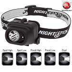 NightStik Dual-Light Multi Function Headlamp
