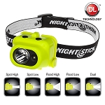 NightStik Intrinsically Safe Multi-Function Dual Light Headlamp