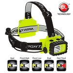 NightStik Intrinsically Safe Permissible Multi Function Dual-Light Headlamp