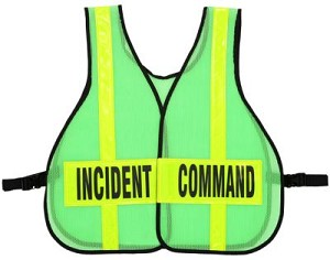 Command Vest W/Front Closure