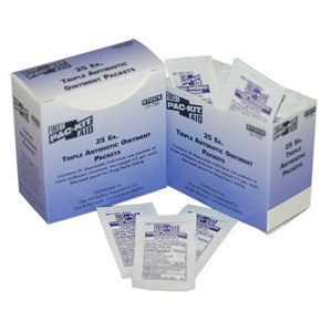Triple Antibiotic Ointment, .5 gm., 25/box