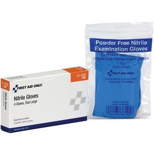 Exam-Quality Gloves (Unitized Refill), Nitrile (Latex-Free), 2 Pair