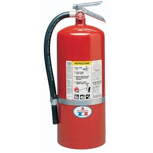 Badger° Standard 2 1/2 lb ABC Fire Extinguisher w/ Vehicle Bracket