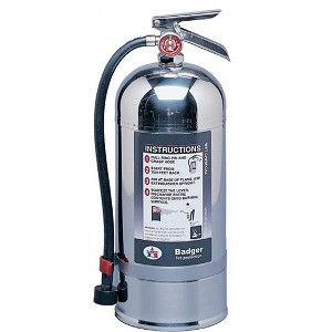 Badger° Extra 2 1/2 gal Wet Chemical Fire Extinguisher w/ Wall Hook