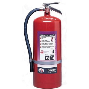 Badger™ Extra 2 1/2 lb Purple K Fire Extinguisher w/ Vehicle Bracket