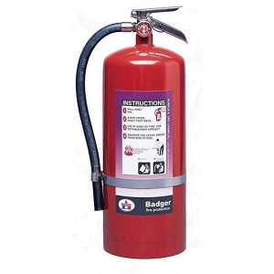 Badger™ Extra 20 lb Purple K Fire Extinguisher w/ Wall Hook