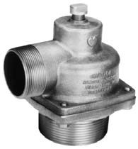 "Elkhart 2.5"" (NHT) Male Inlet Relief Valve Model 40-32"