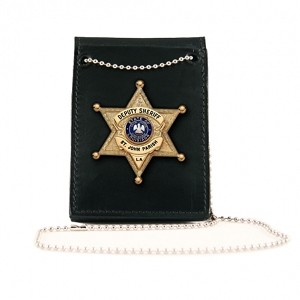 Neck Chain, Badge/ID, Plain, Pin-In, Neck-Pocket-Belt