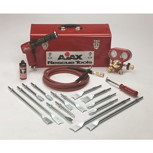 Ajax Rescue Tools 811-RK Heavy Duty Air Hammer Rescue Kit