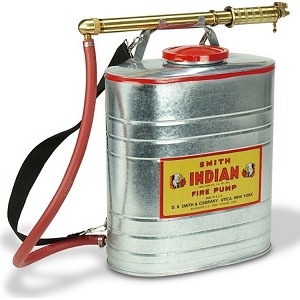 Indian Backpack Firefighting Pumps-Stainless Steel