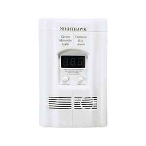 Gas/CO Combo Alarm w/Digital Display