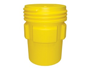 95 Gallon Overpack Drum, Yellow