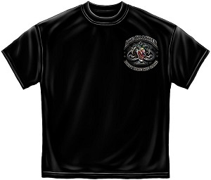 Ace Cracker Mens Tee Black