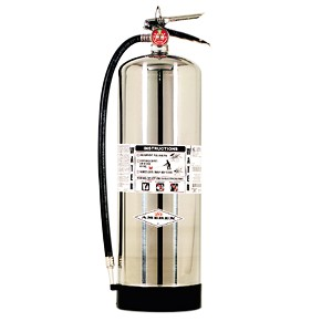 Brooks Amerex Stored Pressure Water and Foam Fire Extinguishers