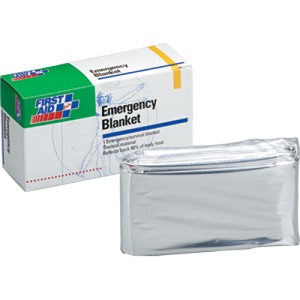 "52"" x 84"" Emergency Blanket 5/box"