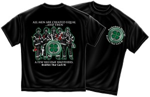 Irish Firefighter Brotherhood Shirt