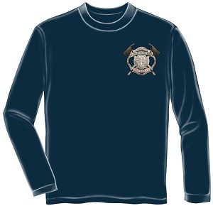 Long Sleeve American Firefighter