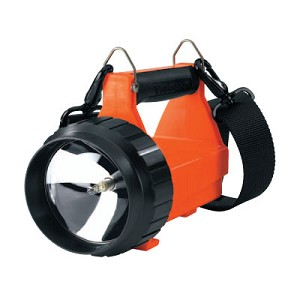 Fire Vulcan Standard System dual rear LEDs, quick release shoulder strap. 120V AC/DC. (8WS) Orange