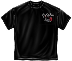 Four Of A Kind Mens Tee Black