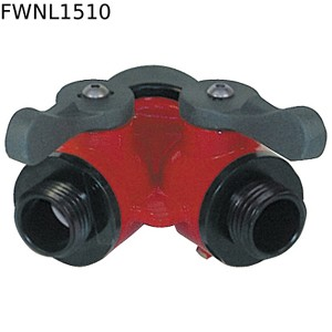 "Forestry Wye, 1.5"" Inlet x 1"" Outlets"