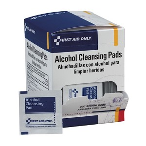Alcohol Cleansing Pads, 100/Box