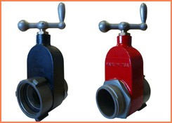 HYDRANT GATE VALVE RED